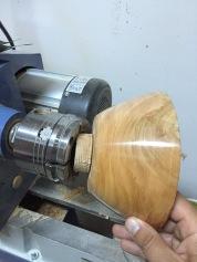 cherrry wood bowl