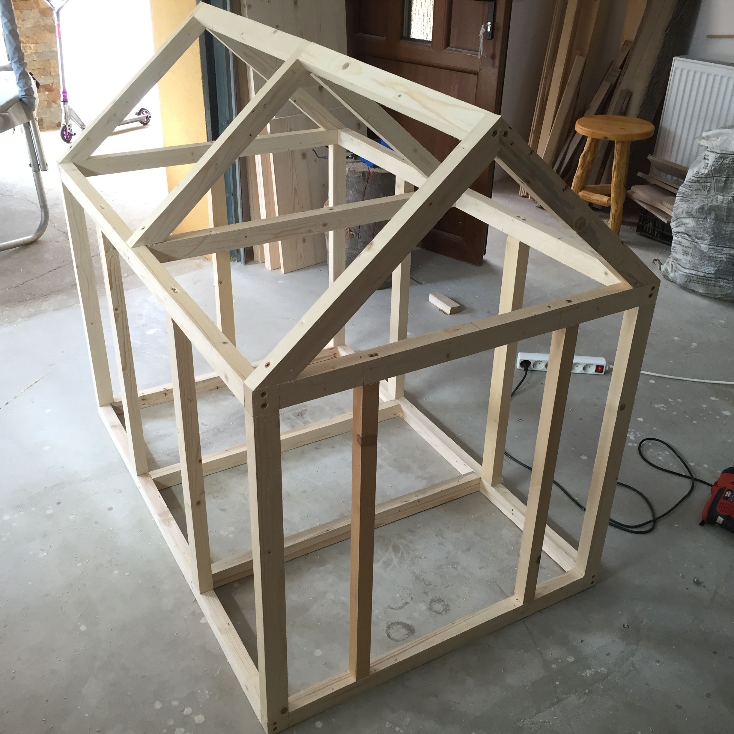 Image Result For Homemade Dog House
