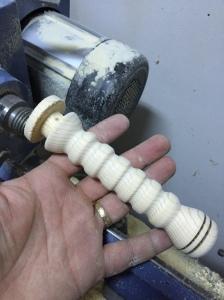 wood sword handle