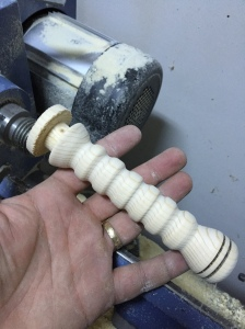 wood sword handle