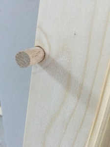 fixing wood knot