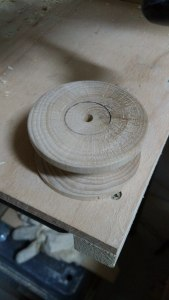 The finished spool